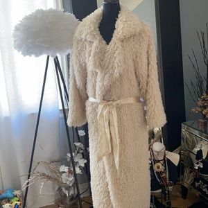 Over the top dressing robe